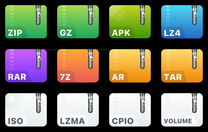 ezip-专为macOS设计的压缩软件